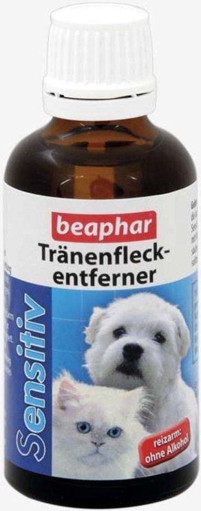 Beaphar Tranenfleckentferner - Łagodny płyn do usuwania plam łzowych i przebarwień 50ml