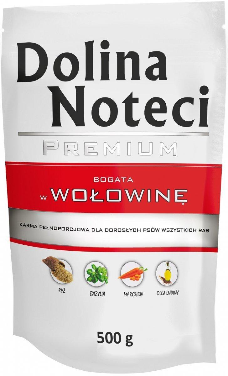 Dolina Noteci Premium Bogata w wołowinę 10x500g