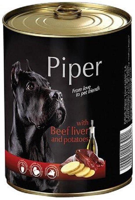 Piper z wątróbką wołową z ziemniakami 12x400g