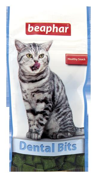 Beaphar Dental Bits - przysmak dla kotów na zęby 35g