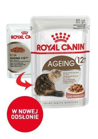 Royal Canin Ageing 12+ w sosie 12x85g