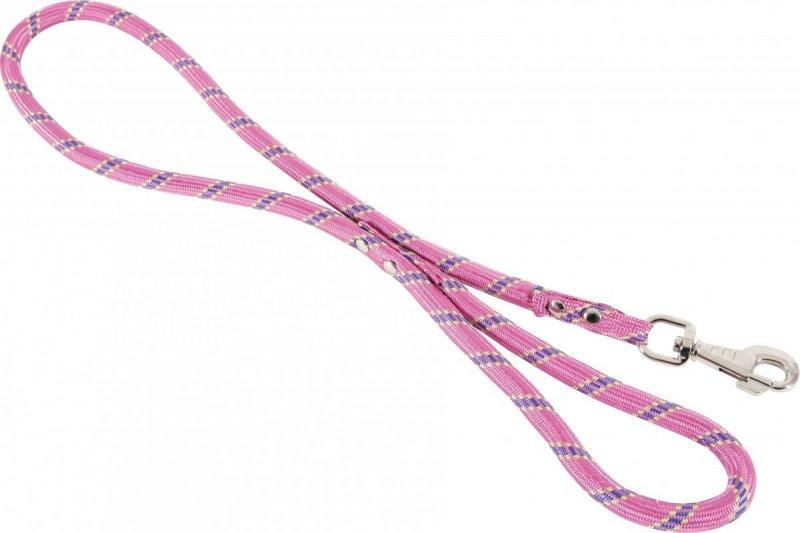 Zolux Smycz nylonowa różowa  - sznur 13mm/1,2m