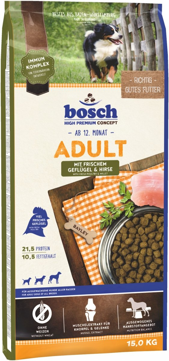 Bosch Adult Drób & Proso 15kg