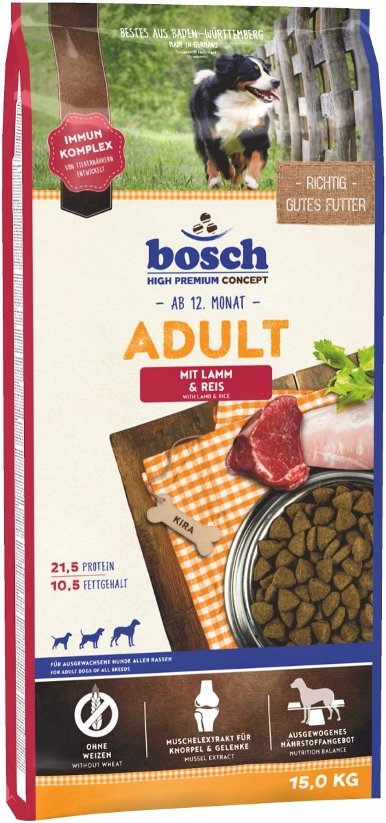 Bosch Adult Lamb Rice 15kg