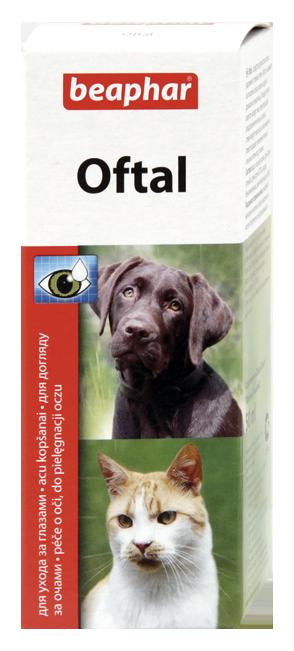 Beaphar Oftal - krople do pielęgnacji oczu 50ml