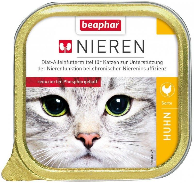 Beaphar Nieren Z piersią z kurczaka dla kotów z niewydolnością nerek 100g