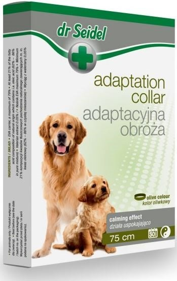 Dr Seidel Obroża adaptacyjna dla psów - pomoc behawioralna
