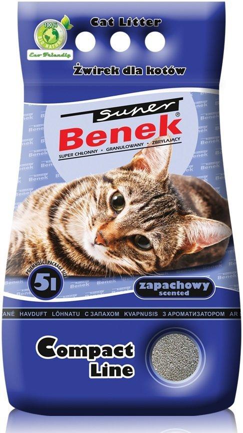 Super Benek Compact Zapachowy 2x10l