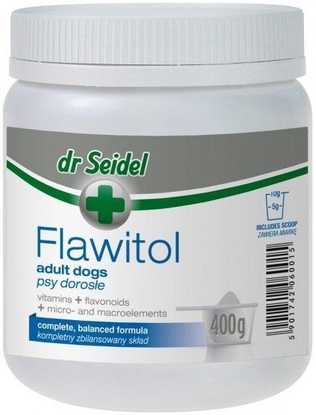 Dr Seidel Flawitol dla dorosłych psów 400g