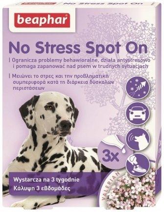 Beaphar No Stress Spot On dla psów - 3 ampułki