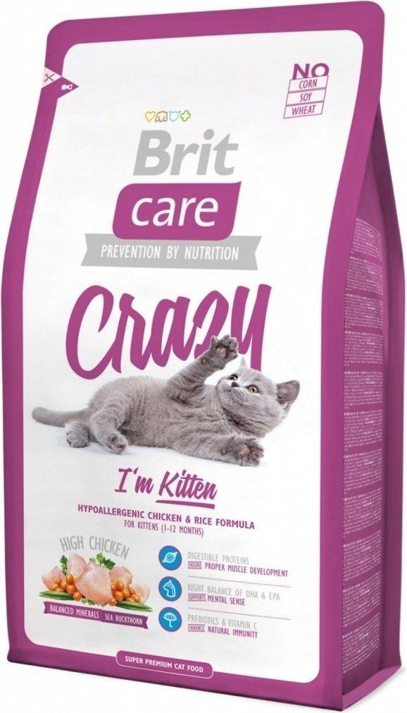 Brit Care Cat Crazy I'M Kitten  2kg