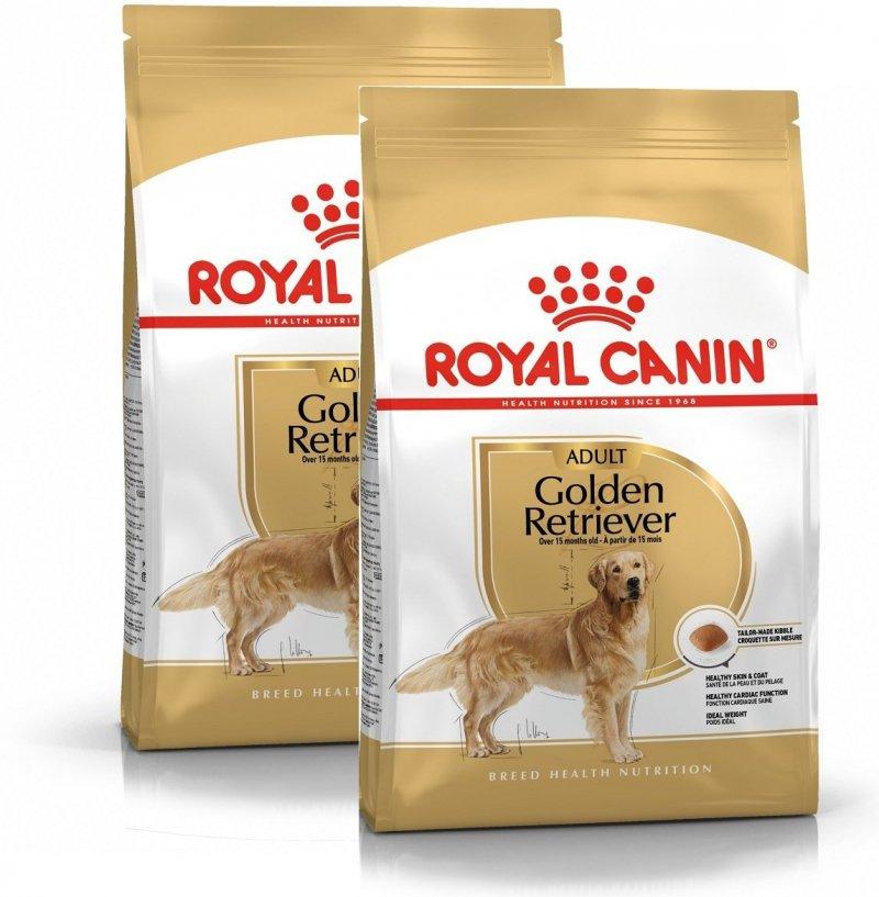 Royal Canin Golden Retriever Adult 2x12kg (24kg)