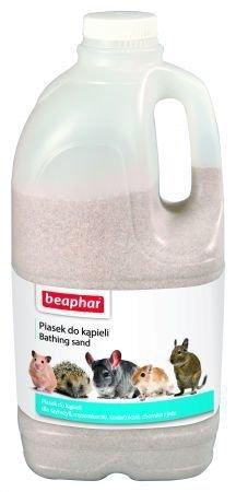 Beaphar - piasek do kąpieli dla małych zwierząt 1300g