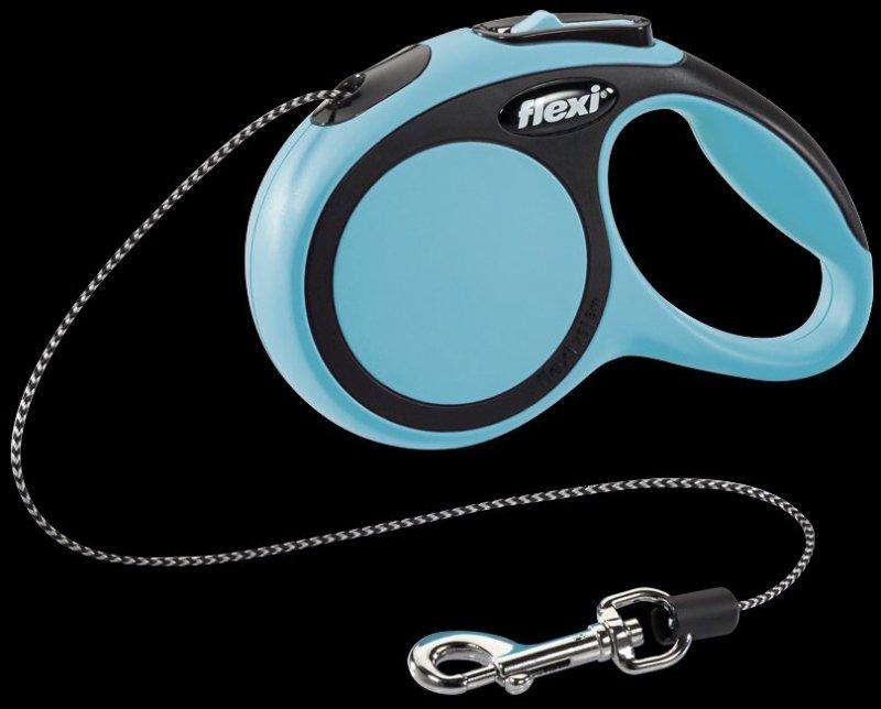 Flexi New Comfort XS linka 3m - niebieska