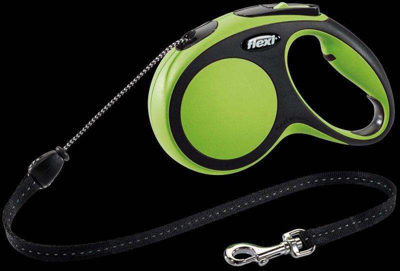 Flexi New Comfort M linka 5m - zielona
