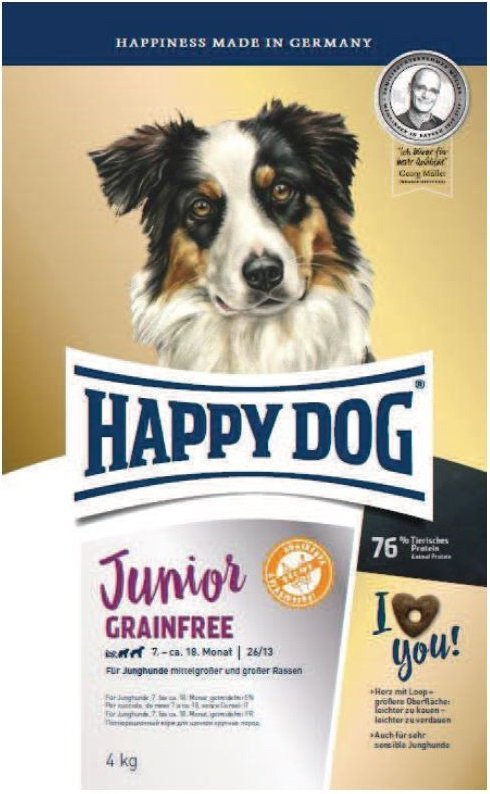 Happy Dog Young Junior GrainFree 10kg