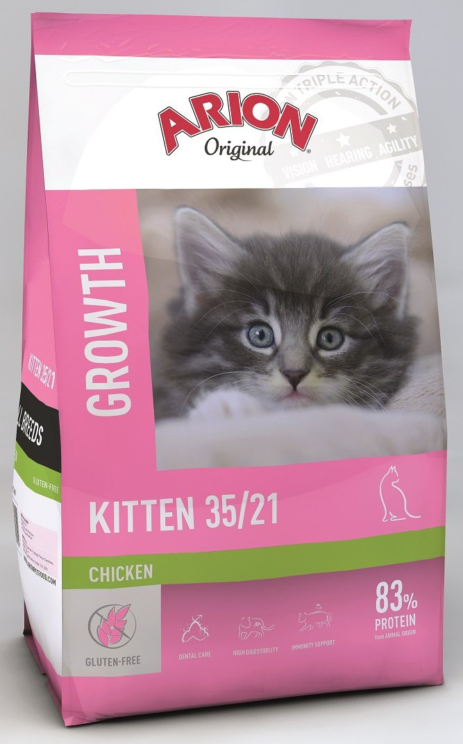Arion Original Cat Kitten 35/21 Chicken 7,5kg