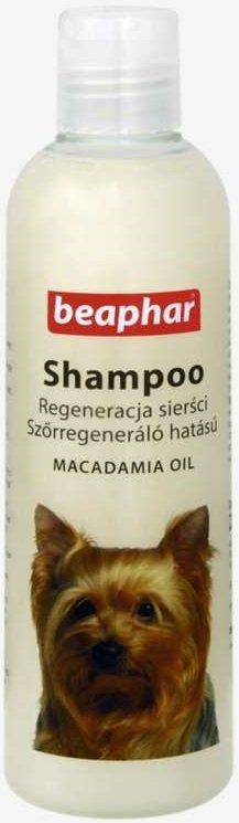 Beaphar Szampon dla psów z olejkiem makadamia - regeneracja sierści 250ml