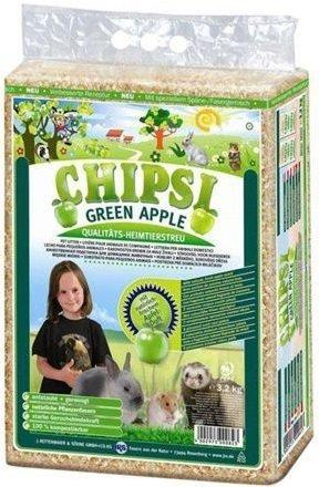 Chipsi Green Apple - trociny jabłkowe 60l