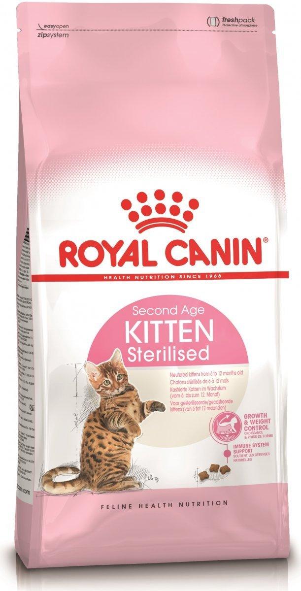 Royal Canin Kitten Sterilised Second Age 12x400g