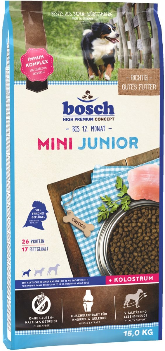 Bosch Mini Junior 15kg