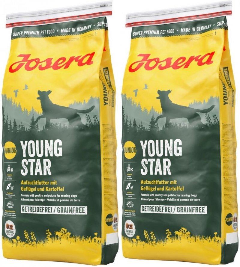 Josera YoungStar - karma od 8 tygonia  2x15kg (30kg)