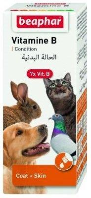 Beaphar Vitamine B - 7 witamin z grupy B dla zwierząt 50ml