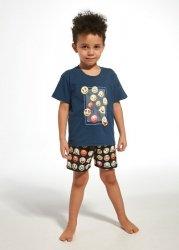 Piżama Cornette Young Boy 790/76 Emoticon kr/r 134-164