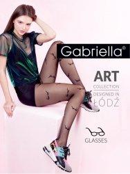 Rajstopy Gabriella 450 Glasses 5-XL