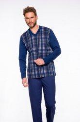 Piżama Taro Roman 004 dł/r 2XL-3XL '20