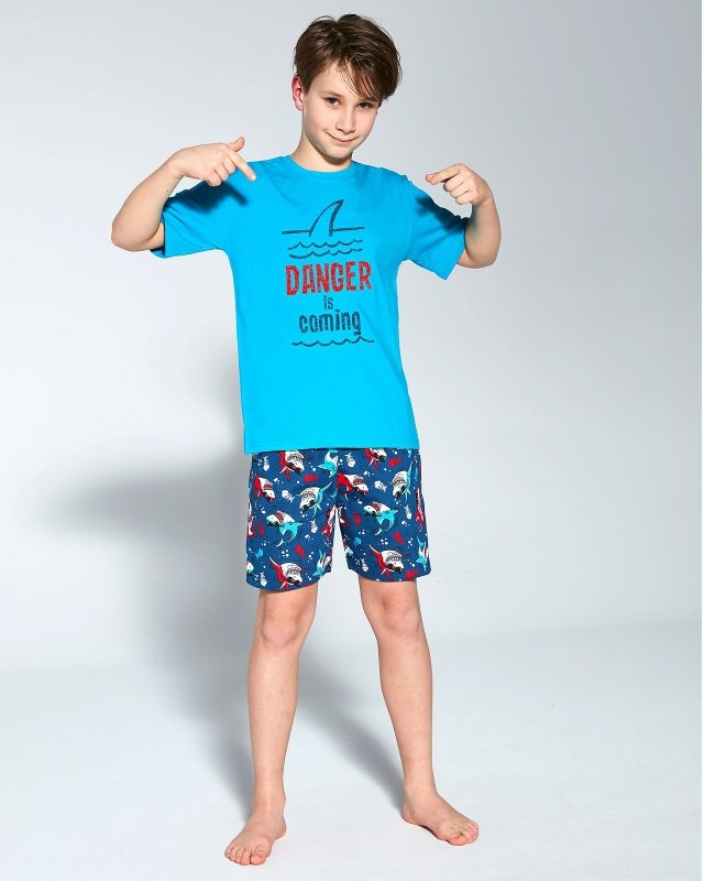 Piżama Cornette Young Boy 790/94 Danger kr/r 134-164