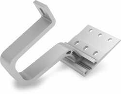 K2 aluminiowy hak, SingleHook 1.1, kontamibilny z szyną SingleRail, w zestawie ze śrubą T i nakrętką