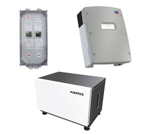 AXITEC Energy LI 10S x 2 16.0 + SMA Sunny Island 4.4M