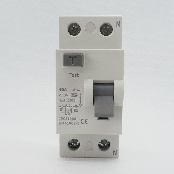 Wyłącznik różnicowoprądowy 2P 40A 0,03A typ A