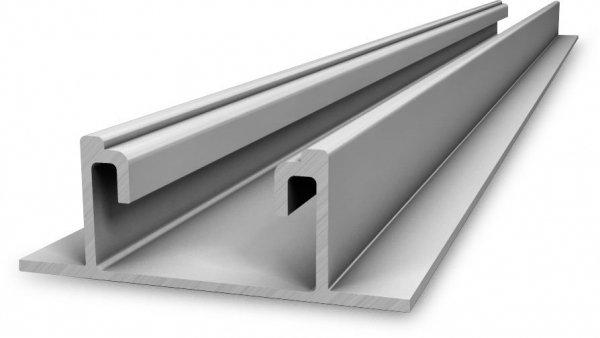 K2 Speed-Rail 22, płyta montażowa szyna trapezowe, 3,25m - nowy