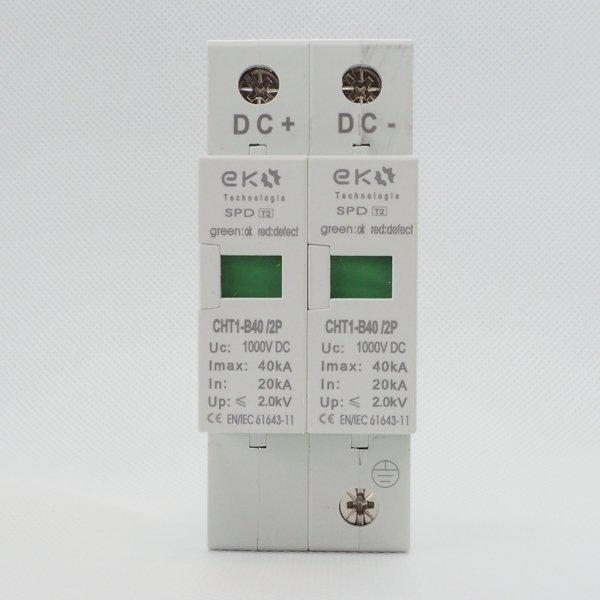 Ogranicznik przepięć T2 (B) 2P 20/40kA Solar 1000V
