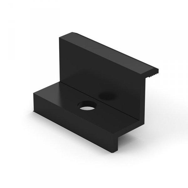 Klema końcowa 50mm czarna (K-06-50-CZ)