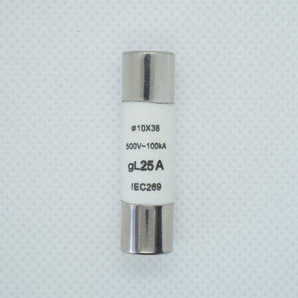 Wkładka bezpiecznikowa 10x38 25A 500V AC gL