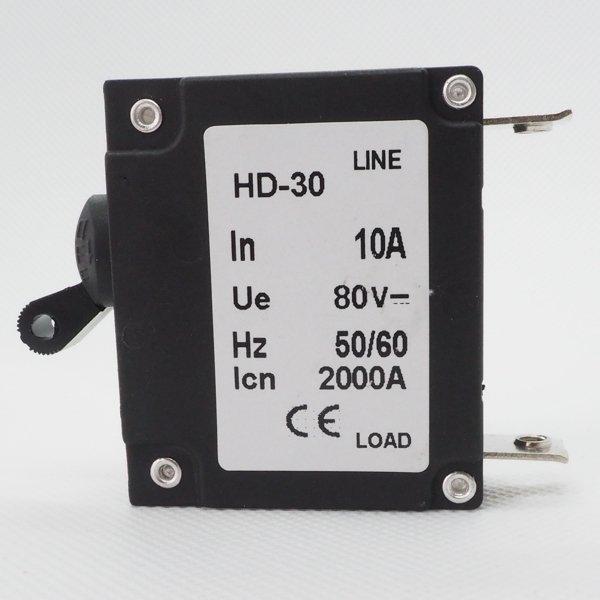 Automatyczny bezpiecznik hydro-magnetyczny 10A DC