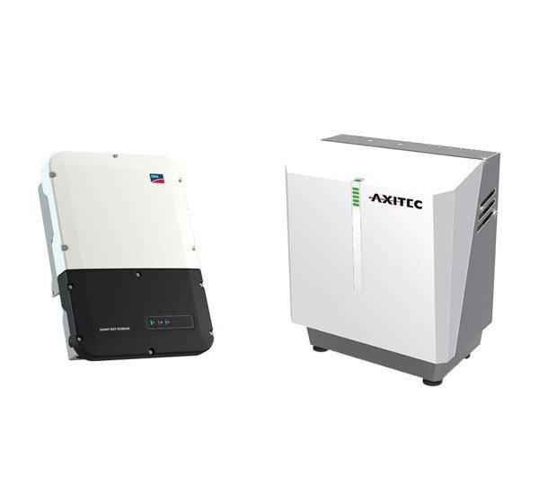 AXITEC Energy LI 9 SH 7.5 + SMA Sunny Boy Storage 6.0