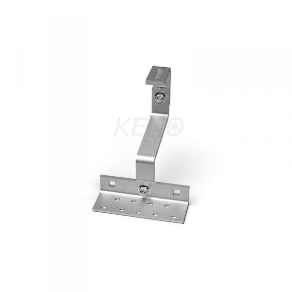 Uchwyt hak pod dachówkę z podwójną regulacją - Extra Strong 8mm