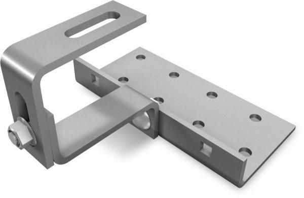 K2 Vario 2 hak dachowy, podwojnie regulowany (stal: 30x6mm, 140x55x5mm mocowanie)