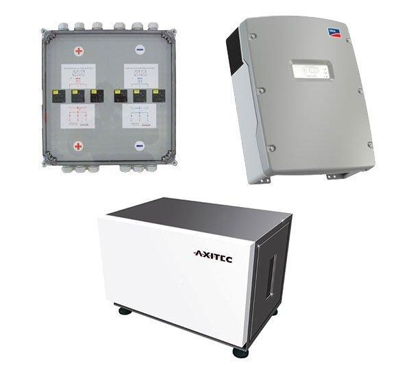 AXITEC Energy LI 10S x 3 24.0 + SMA Sunny Island 6.0H