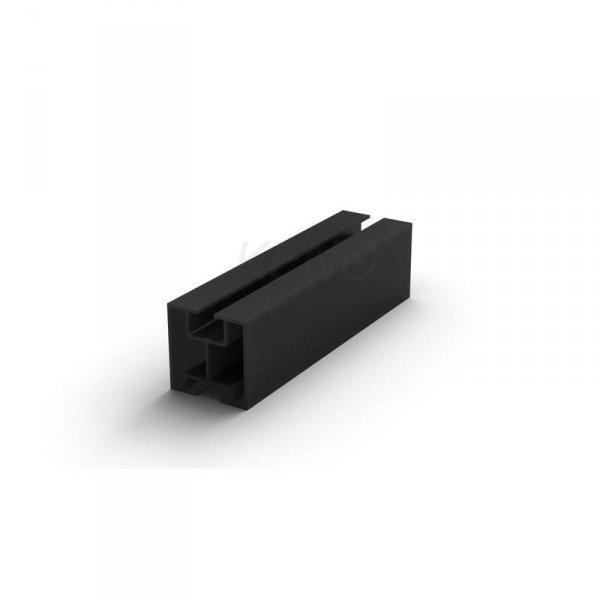 Profil aluminiowy 2220mm czarny (K-01-2220-CZ)