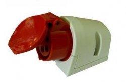 Gniazdo stałe 32A/400V 5B PCE