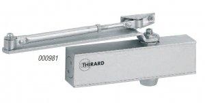Samozamykacz THIRARD DESIGN 987 drzwiowy górny srebrny