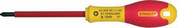 Wkrętak krzyżakowy FATMAX dla elektryków PH2x125 1000V STANLEY
