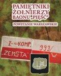 """Pamiętniki żołnierzy baonu """"Pięść"""". Powstanie warszawskie"""