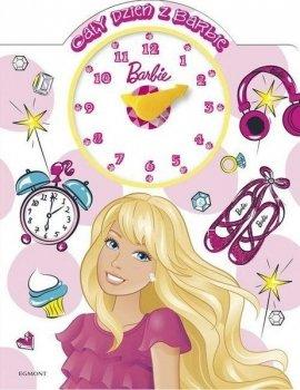 Barbie. Cały dzień z Barbie - książka z zegarem