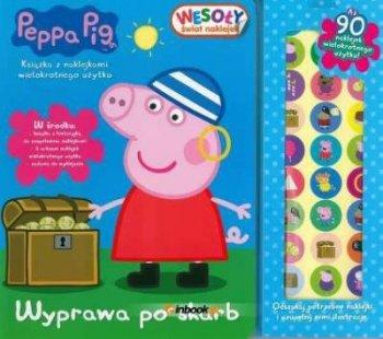 Peppa Pig. Wesoły świat naklejek. Wyprawa po skarb